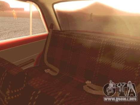 Fiat 124 para la vista superior GTA San Andreas