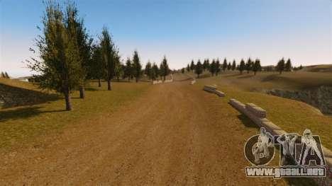 Cliffside ubicación Rally para GTA 4 adelante de pantalla