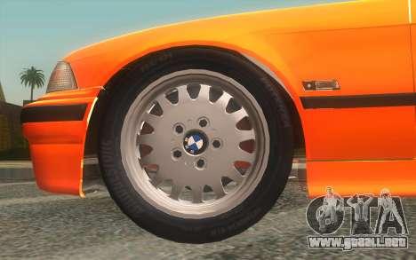 BMW 325i E36 Convertible 1996 para la visión correcta GTA San Andreas