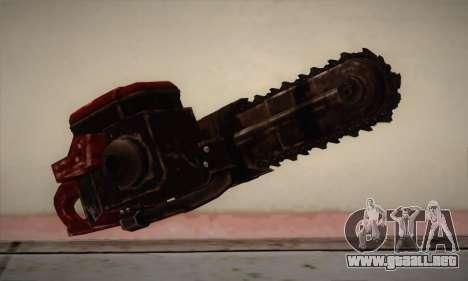 Motosierra nueva para GTA San Andreas