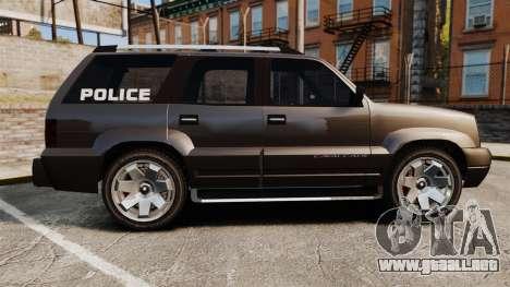 Cavalcade Police para GTA 4 left