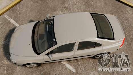 Volvo S60R para GTA 4 visión correcta
