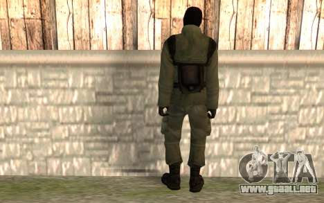 Terrorista chino para GTA San Andreas segunda pantalla