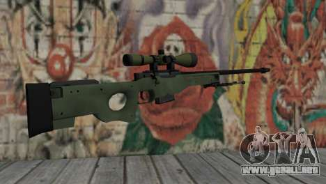 AWP from CS:GO para GTA San Andreas segunda pantalla