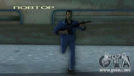 M4 de la versión XBOX para GTA Vice City tercera pantalla