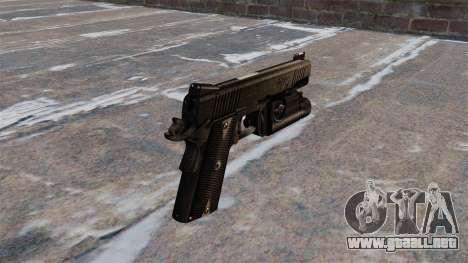 Pistolas semiautomáticas Kimber para GTA 4 segundos de pantalla
