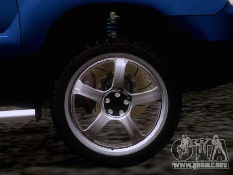Subaru Forester 2.5XT 2005 para la visión correcta GTA San Andreas