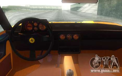 Ferrari 328 GTB para la visión correcta GTA San Andreas