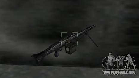 Ametralladora MG-3 para GTA Vice City tercera pantalla