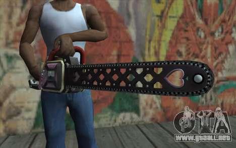 Ver Julieta para GTA San Andreas tercera pantalla