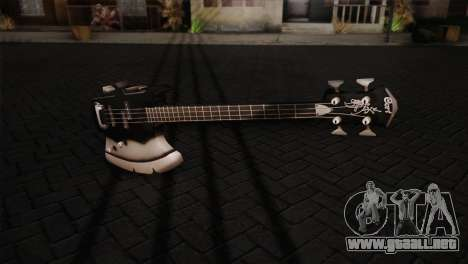 Guitarra, beso para GTA San Andreas segunda pantalla