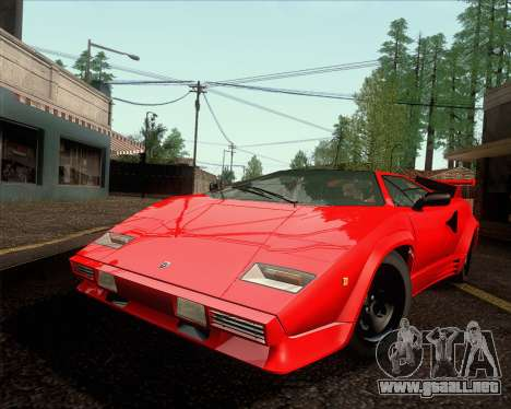 lamborghini countach lp500 quattrovalvole 1988 para gta. Black Bedroom Furniture Sets. Home Design Ideas