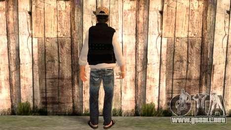 Desmadroso v5.0 para GTA San Andreas segunda pantalla