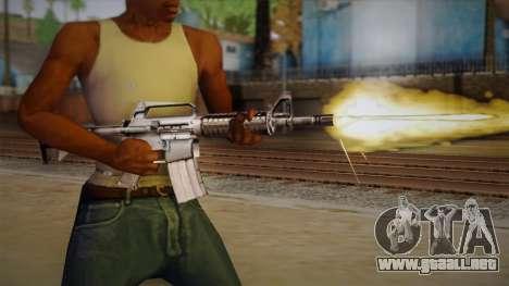 M4 de Max Payne para GTA San Andreas tercera pantalla