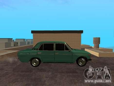 VAZ 2106 para GTA San Andreas vista posterior izquierda