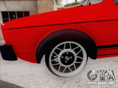 Volkswagen Golf GTI MK1 para GTA San Andreas left