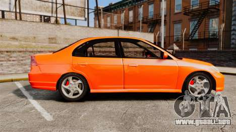 Honda Civic VTEC para GTA 4 left