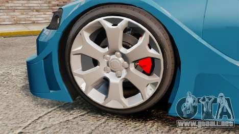 Opel Astra Coupe OPC Road Edition para GTA 4 vista hacia atrás