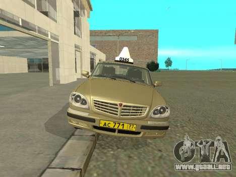 GAZ 31105 Volga Taxi para GTA San Andreas left