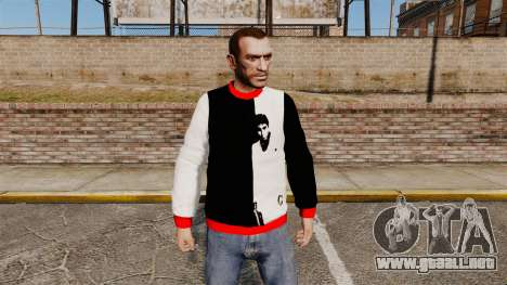 Suéter-Scarface - para GTA 4
