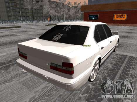 BMW 535i para GTA San Andreas left