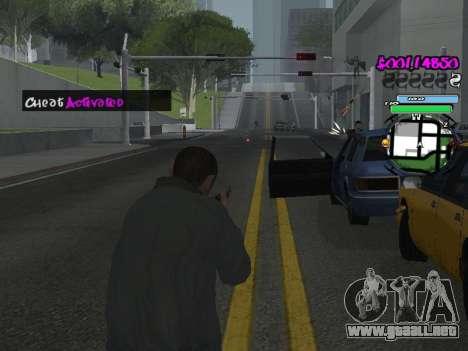 HUD para GTA San Andreas undécima de pantalla