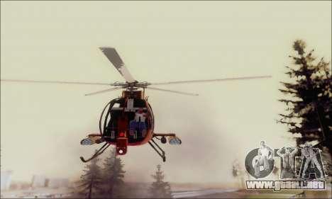 Helicóptero de ataque buitre de GTA 5 para vista lateral GTA San Andreas