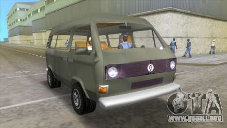 Volkswagen Transporter T3 para GTA Vice City