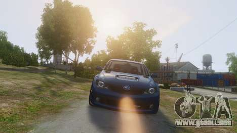 Subaru Impreza WRX STi 2010 para GTA 4