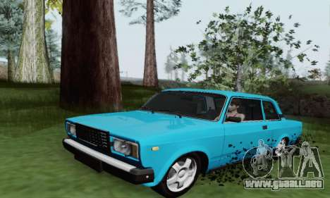 VAZ 2107 Coupe para GTA San Andreas left