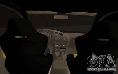Mitsubishi Lancer Evolution VI para la visión correcta GTA San Andreas