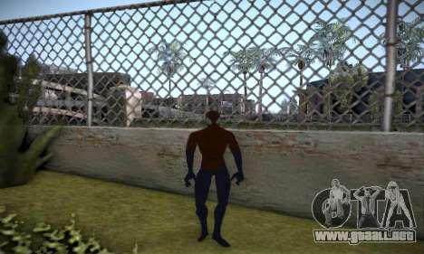 Spider man EOT Full Skins Pack para GTA San Andreas quinta pantalla