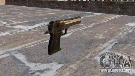 Desert Eagle pistola MW3 para GTA 4 segundos de pantalla