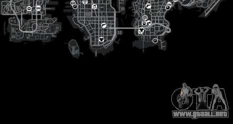 Cliffside ubicación Rally para GTA 4 twelth pantalla