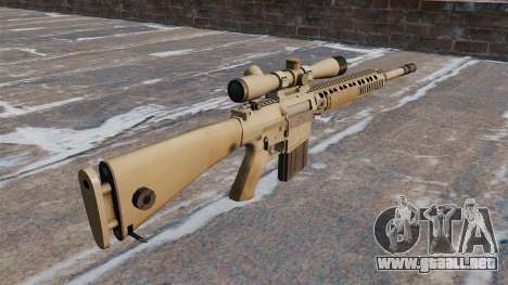 El rifle de sniper M110 SASS para GTA 4 segundos de pantalla