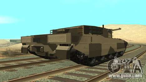GTA V Rhino para GTA San Andreas left