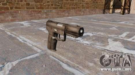 Carga automática pistola FN Five-seveN para GTA 4
