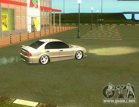 Mitsubishi Galant para GTA San Andreas left