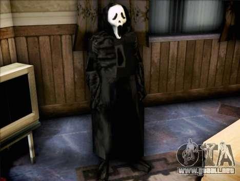 Maníaco de la película Scream para GTA San Andreas segunda pantalla