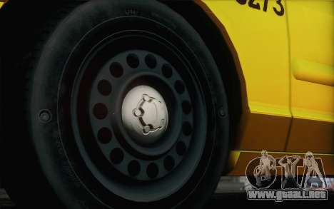 Ford Crown Victoria LA Taxi para GTA San Andreas vista hacia atrás