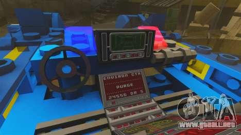 Lego Car Blade Runner Spinner [ELS] para GTA 4 vista hacia atrás