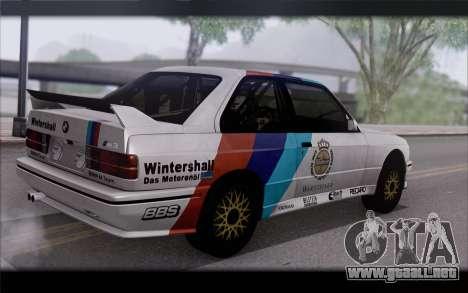 BMW M3 E30 Racing Version para GTA San Andreas left