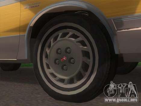 Oldsmobile Cutlass Ciera Cruiser para GTA San Andreas vista posterior izquierda