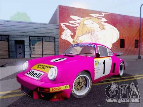 Porsche 911 RSR 3.3 skinpack 5 para GTA San Andreas left