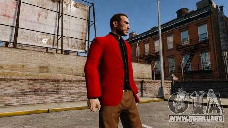 Chaqueta roja para GTA 4 tercera pantalla