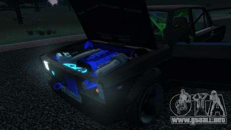 VAZ 2105 para GTA 4 vista lateral