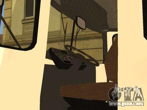 Kavz 3976 para GTA San Andreas vista hacia atrás