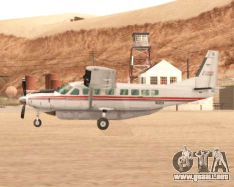 Cessna 208B Grand Caravan para GTA San Andreas left