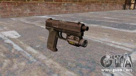 Pistola HK USP 45 MW3 para GTA 4