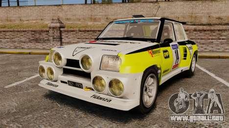 Renault 5 Turbo Maxi para GTA 4